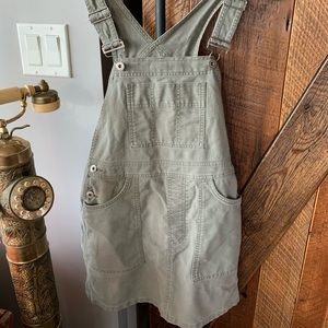 Abercrombie and Fitch overall dress / skirt